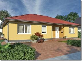 Rohbaubesichtigung Bungalow mit 128 m² Wohnfläche