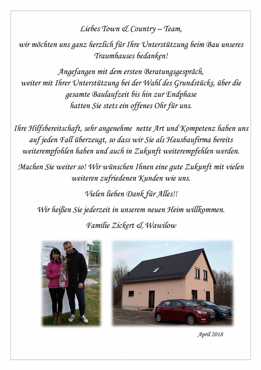 Familie Zickert & Wawilow